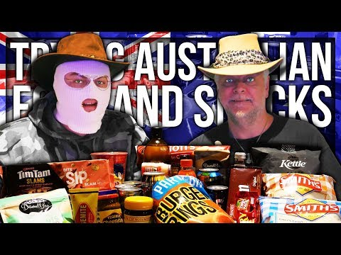 ANOMALY TRIES AUSTRALIAN FOOD AND SNACKS (PART 1)