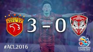 SHANGHAI SIPG vs MUANGTHONG UNITED: AFC Champions League 2016 (Playoffs)