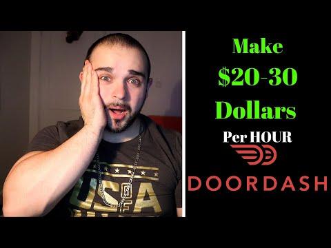 $20-30 Dollars An Hour Doing DoorDash!? (5 Proven Tips)