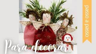 DIY – Ideias fofas de Natal – By Fê Atelier ( Super Fácil )