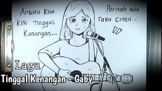 Cerita Mistis Dan Sedih Dibalik Lagu Tinggal Kenangan - Gaby || DRAWSTORY #79