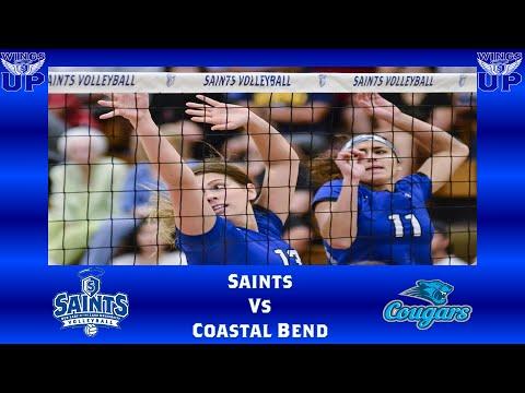 OLLU Saints Volleyball vs. Coastal Bend College