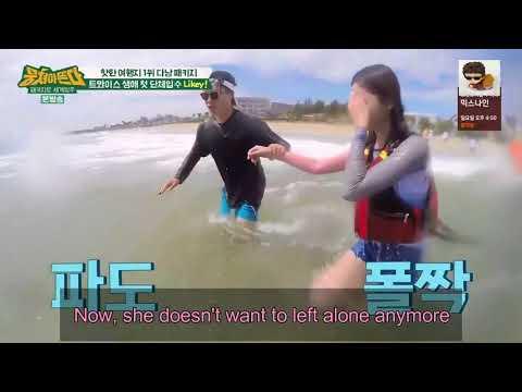 TWICE [트와이스] Tzuyu Overcome Her Fear Of Water トゥワイス