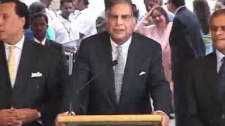 RATAN TATA IN TAJ INAGURATION