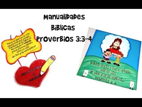 Manualidades Bíblicas/ Proverbios 3:3-4/ dos manualidades ... | 480 x 360 jpeg 30kB