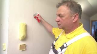 Bílý interiér - odstranění fleků ze zdí