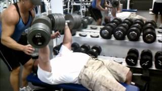b chavez db bench press 140x10 wmv