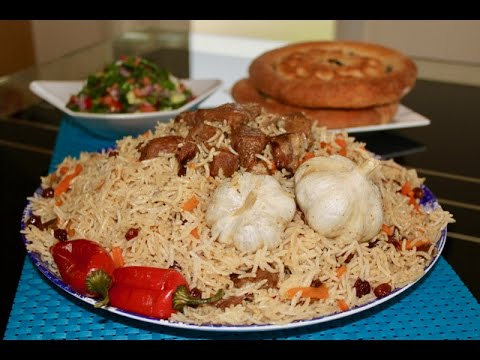Traditional Uzbaki Kabuli  Pulao Recipe - Uzbek Plov or - Osh - Pilaf  - One Pot Dish