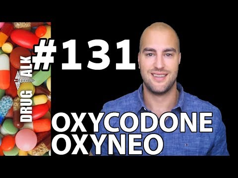 OXYCODONE (OXYNEO) - PHARMACIST REVIEW - #131