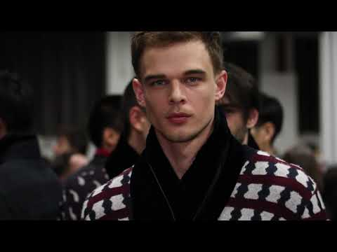 Giorgio Armani Men's FW20-21 Fashion Show - BTS
