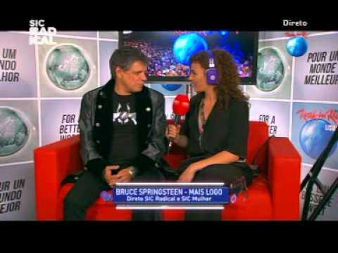 Xutos e Pontapés - Interview - Rock in Rio Lisboa 2012 - June 3rd