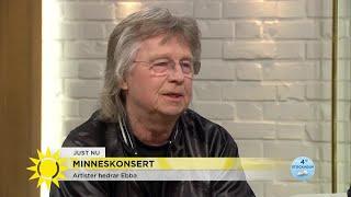 Janne Schaffer i minneskonsert för Ebba