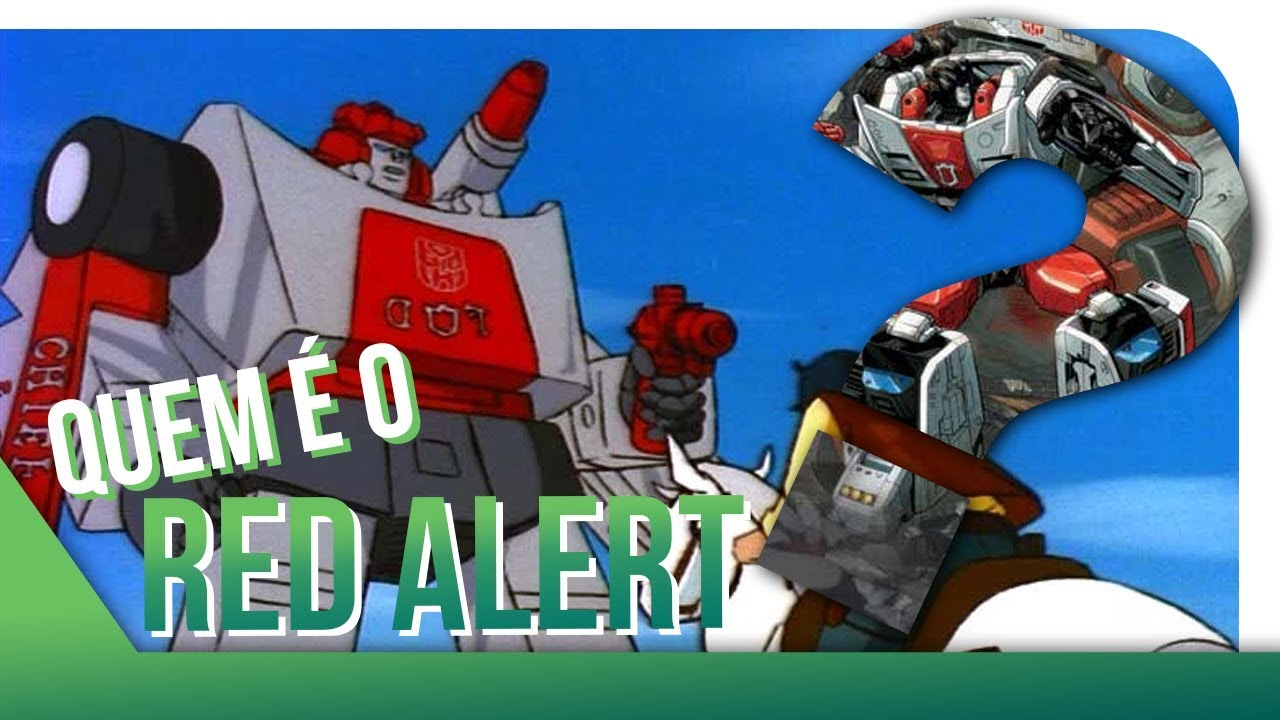 Transformers Quem é O Red Alert Tf Overdrive Youtube