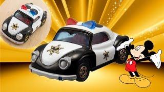 【tomica小汽車】米奇老鼠 警察車01167+zh