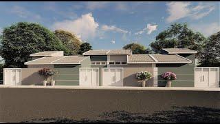 MINHA CASA MINHA VIDA 2021   Casas de 58 m² !!!