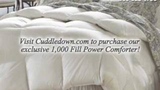 The Ultimate Luxury Comforter - 1000 Fill Power European Goose Down Batiste Comforter