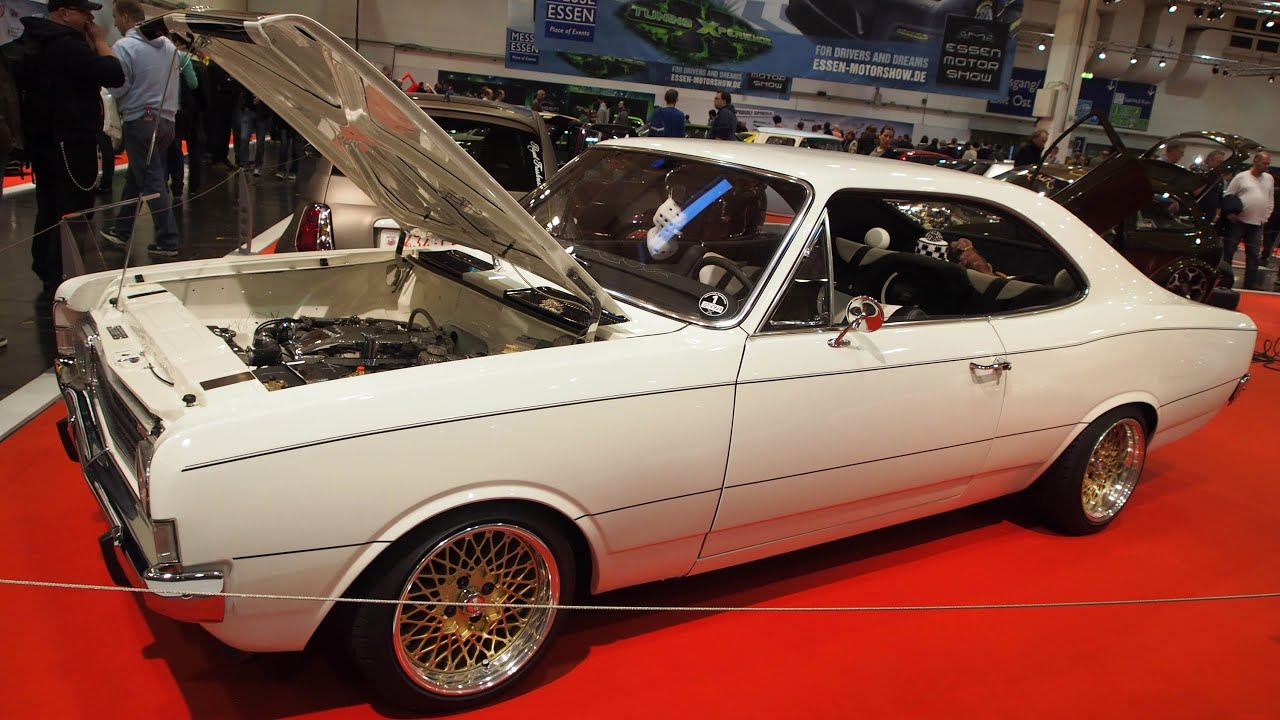 1970 opel record c coupe tuning at essen motorshow. Black Bedroom Furniture Sets. Home Design Ideas