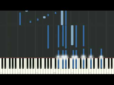 Clair de Lune by Claude Debussy for Piano - synthesia
