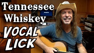 Chris Stapleton - Tennessee Whiskey Vocal Lick - Learn How to Sing It - Ken Tamplin Vocal Academy