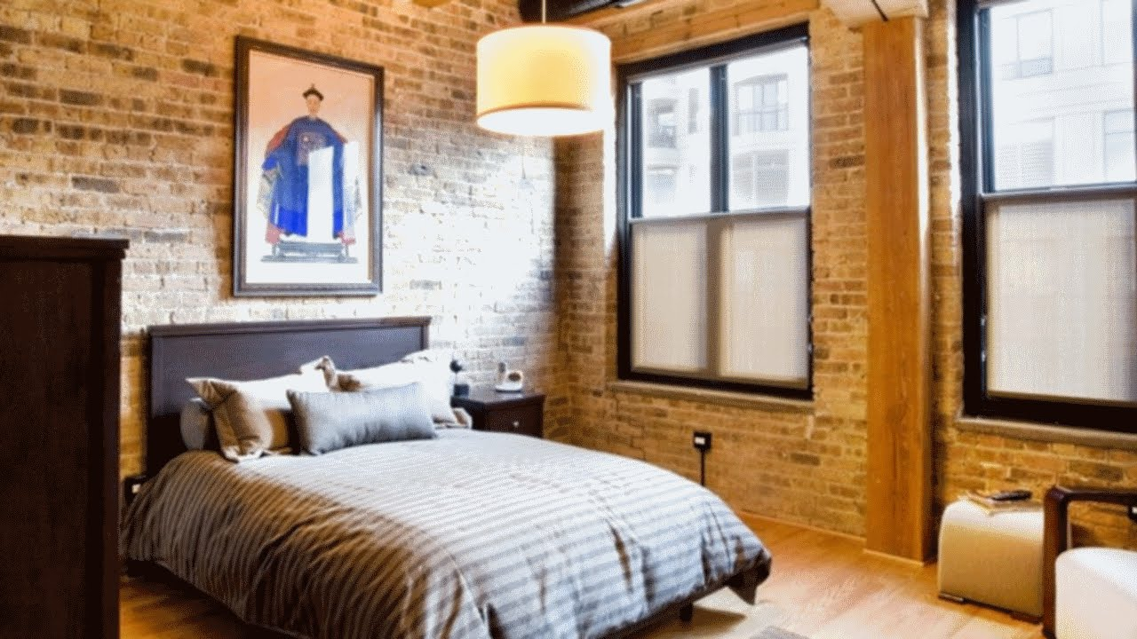 Modern Industrial Bedroom 44 Modern Industrial Style Interiors With Exposed Brick Walls Part 2