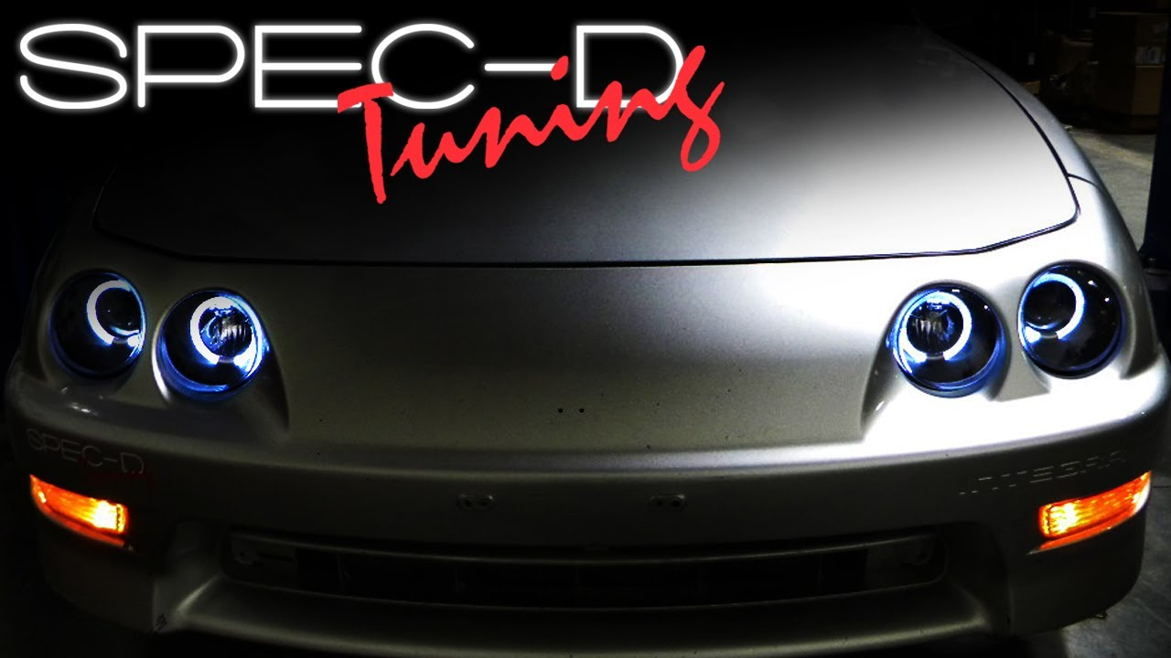SPECDTUNING INSTALLATION VIDEO: 1994-2001 ACURA INTEGRA HALO ...
