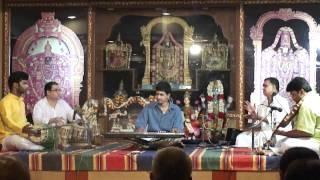 Kalpanaswaram in Abhogi by Sathya and Team on keybaord