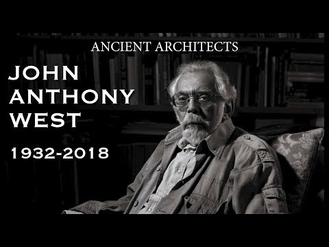 RIP John Anthony West 1932-2018