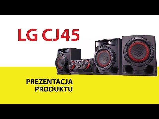 Wieża LG CJ45