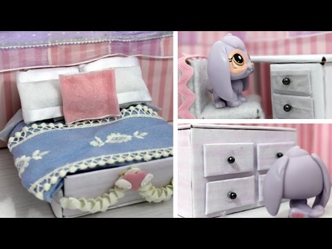 DIY LPS Bedroom (Speed-craft)