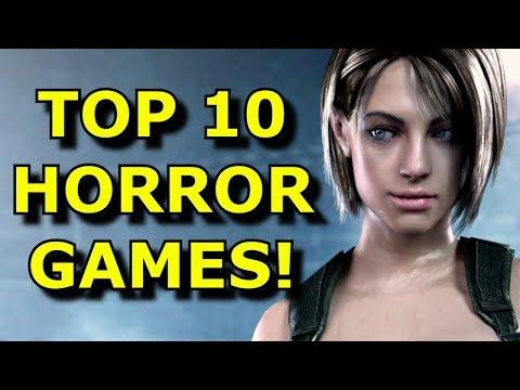My TOP 10 Favorite Horror Games Ever!