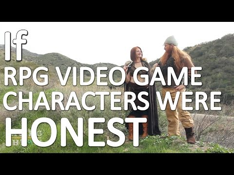 If RPG Video Game Characters Were Honest
