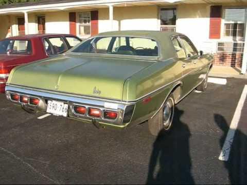 Uncle Tony's '72 Dodge Coronet Custom - YouTube