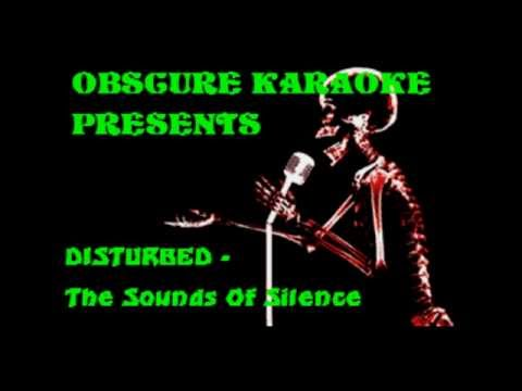 DISTURBED - The Sound of Silence (KARAOKE)