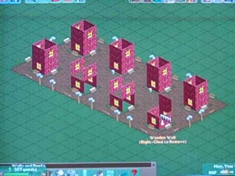 Rct2 Advance Building w/ Custom scenery (!) Tutorial Part 1