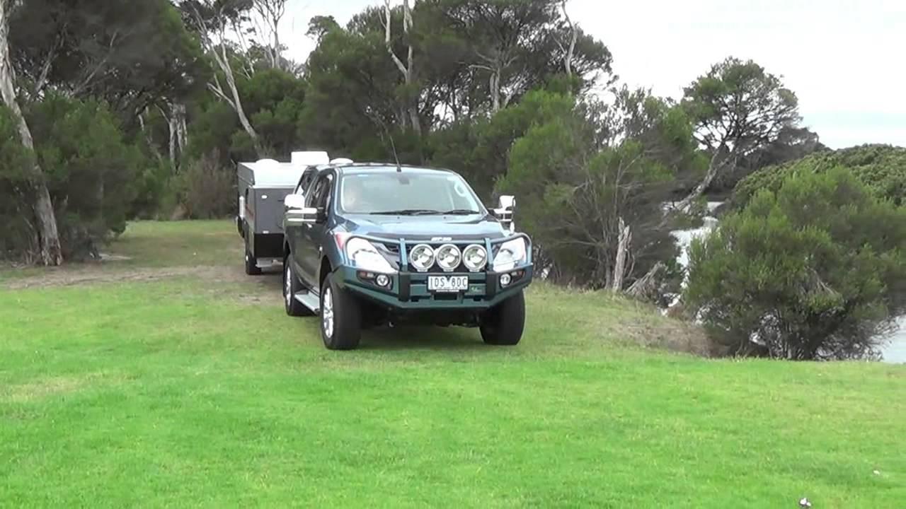 Kakadu camper trailer - Chameleon (Wheel chair accessible) - YouTube