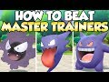 How To Beat Gastly, Haunter, & Gengar Master Trainers Guide! | Pokemon Let's Go