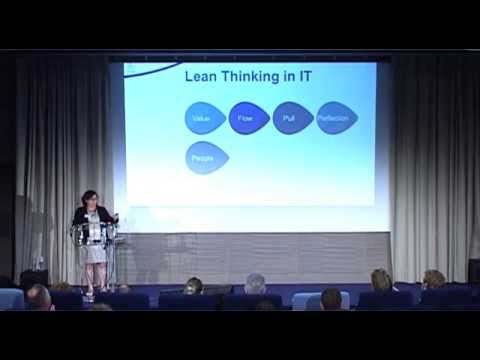 How to lead the IT transformation with Lean Thinking by Marie-Pia Ignace