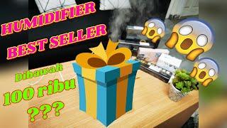 Air Humidifier Diffuser 1000ml Lampu RGB 7 Warna Aroma Terapi