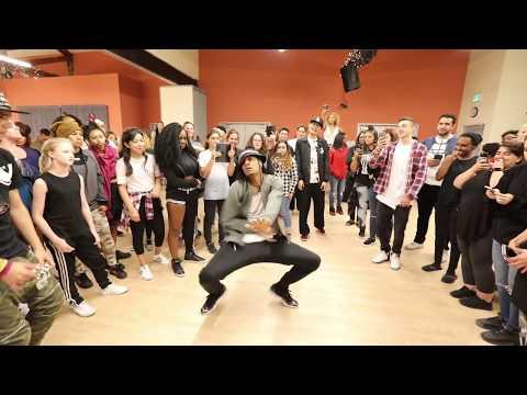 "Les Twins | LA 2017 Workshop | Laurent dancing to ""Jungle"" by Freeway"