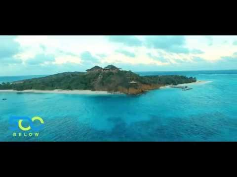 500Below Visits Necker Island with Drone