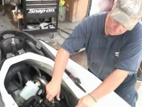 HOW TO PROFESSIONALLY WINTERIZE A PERSONAL WATERCRAFT JETSKI ENGINE