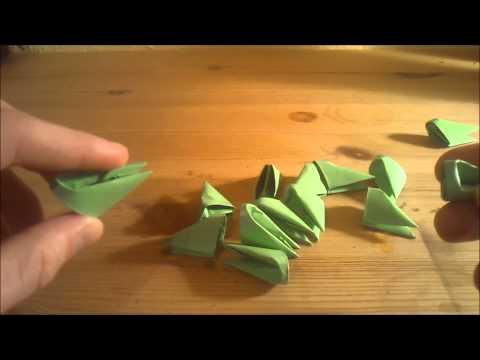 origami korb osterkorb basket faltanleitung live doovi. Black Bedroom Furniture Sets. Home Design Ideas