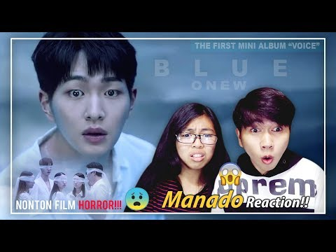 (SampeNangis😥) ONEW 온유 'Blue' MV REACTION | Indonesia