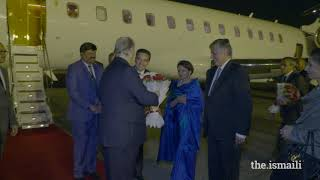 Hazar Imam arrives in Delhi