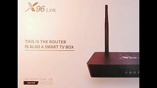 X96 Link -5G тв приставка роутер (2 in 1)