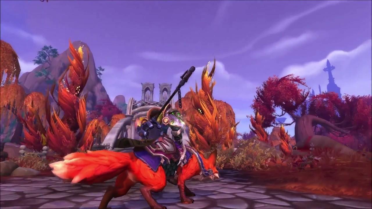 legion volpin fox mount a torn invitation questline youtube