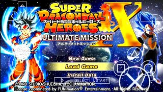 DOWNLOAD NEW DBZ TTT MOD SDBH ISO + MENU With Fighter Z Style Goku Blue And 2 DBS Broly