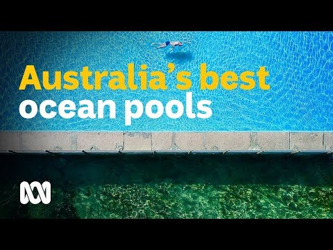 Reviewing the best ocean swimming pools in Australia 🏊🐟💦 #YourSportStory