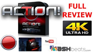 Best Screen/Game Recording Software - Action- No LAG 4K recording HD 2016