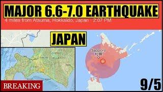 *BREAKING* MAJOR 6.7 - 7.0 EARTHQUAKE ROCKS JAPAN JUST After the Worst TYPHOON JEBI in 25 years!